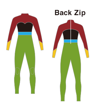 Zip Steamer Back Zip